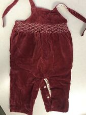 Janie and Jack Toddler Girl Red Trouser Pants 6-12 Months
