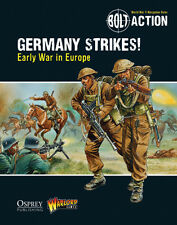 Germania colpisce prima guerra in Europa supplemento BOLT ACTION WARLORD GAMES 28mm