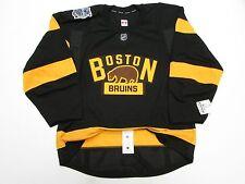 BOSTON BRUINS 2016 NHL WINTER CLASSIC TEAM ISSUED REEBOK EDGE 2.0 7287 JERSEY 54
