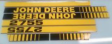 John Deere 2755 Hood Decals
