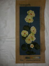 Blue Completed Needlepoint