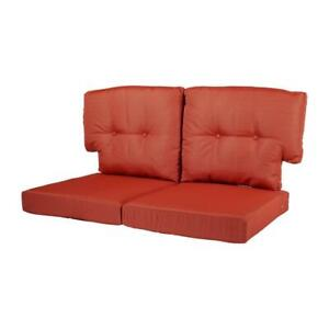 Quarry Red Replacement Outdoor Cushion Martha Stewart Living Charlottetown Edge
