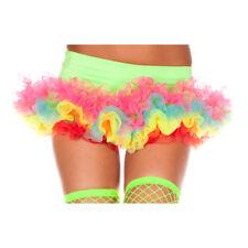 Womens Sexy Rainbow Pettiskirt Costume Accessory