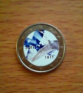 """2 euro couleur Finlande 2011- """"Banque de Finlande"""""""