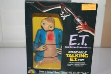 VINTAGE E.T THE EXTRA TERRESTRIAL TALKING DOLL  NEW IN BOX