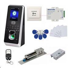 Sistema Multi-Biométrico de Acceso al Tiempo de Acceso Cerradura del Perno