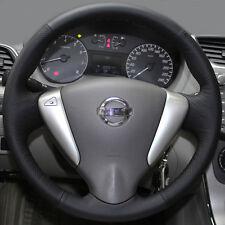 Steering Wheel Cover DIY Wrap for Nissan Sentra Versa Sedan Note 2013 2014 2015
