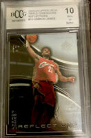 2003-04 Upper Deck Lebron James 🔥🔥🔥 Triple Dimensions Reflection #10 PSA 10