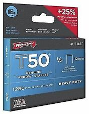 Arrow T50 Stainless Steel Staples 10mm