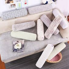 Solid Long Bolster Cylinder Pillow Sofa  Cushion Waist Head Support 5.9*15.7''