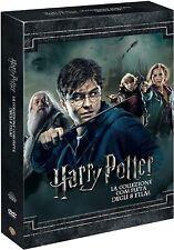 HARRY POTTER LA COLLEZIONE COMPLETA 8 FILM (8 DVD) BOX ITALIANO NUOVO SIGILLATO