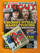 rivista UNCUT 134/2008 CD Bon Iver Crosby Stills Nash & Young Primal Scream