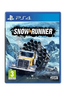 Snow Runner PS4 NEW sony playstation 4 driving game sealed fast post snowrunner