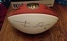 NFL Oakland Raiders Tyler Wilson autographed NFL autograph football PSA/DNA COA