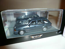 Ford Escort Mk 4 Turnier metal Blue NEO 1/43 Scale Models SERIE LIMITATA Rara