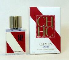 CH MEN SPORT CAROLINA HERRERA Eau de toilette 7 ml. 0.20 fl.oz. Mini perfume