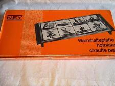 Ney Hot Plate Vintage Food Warmer Olivia Delft Blau Warmhalteplatte Chauffe Plat