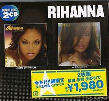 RIHANNA-MUSIC OF THE SUN, A GIRL LIKE ME-JAPAN 2 CD LTD D95