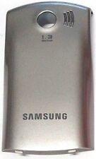 Samsung E2550 Gray Cellphone Battery Door Back Cover Housing Case OEM