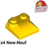 Lego 2x Brique Brick Arche Arch 1x3x2 Curved Top jaune//yellow 6005 NEUF