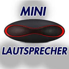 Mini Bluetooth Stereo Lautsprecher in stylischem Design schwarz für iPhone