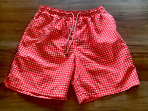Peter Millar Swim Trunks Mens Mesh Brief  Large Retail $98 MInt!