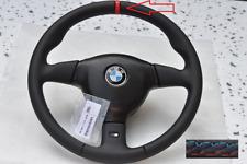 BMW e36 e31 e34 SPORT STEERING WHEEL M3 M technic 2 MT2 New Leather RED TOP MARK