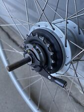 Shimano Nexus Inter8 Hub w/ 700c Wheel, CJ-8S20 Cassette Joint Unit and Washers