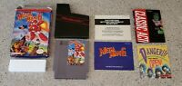 Mega Man 6 megaman six VI - Nintendo NES lot Box Poster & Manual Complete CIB!!!