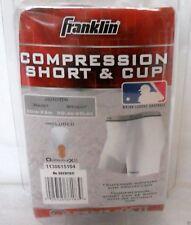 """FRANKLIN COMPRESSION SHORT & CUP QUAD FLEX II JUNIOR WAIST 20-23"""" 30-60 LBS"""
