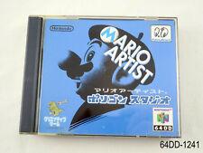 64DD Mario Artist Polygon Studio Complete Nintendo 64 DD N64 Japan JP US Seller