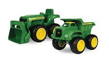 Sand Toys John Deere Tractor Dump Truck Vehicle Kids Toddler Outdoor Boys New