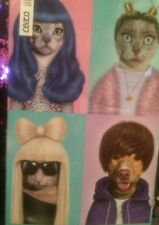 CEACO PETS ROCK JIGSAW PUZZLE POP STARS 550 pc BIEBER MILEY LADY GAGA KATY PERRY