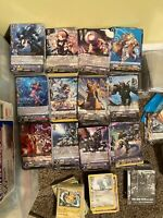 200 Card Bulk Lot Cardfight Vanguard cards Commons and Promos TCG