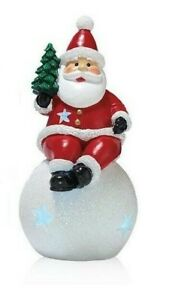 Avon Holly Jolly Mini Light Up Santa, NEW IN BOX, FREE SHIPPING