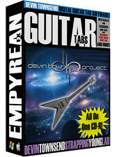 Devin Townsend Guitar Tabs CD-R Digital Lessons Software Windows Mac