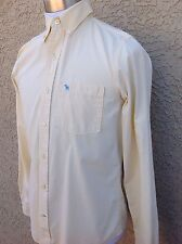 Awesome Men's Abercrombie & Fitch Yellow Shirt Medium  C111