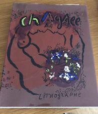 Marc Chagall Lithograph WVZ Mourlot Band 1 / restliche sind vorhanden