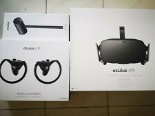 Oculus Rift CV1, touch & xbox controllers plus 3 Sensors VR virtual reality