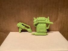 1990 Vtg. TMNT Scumbug BUG PACK & GUN Accessories Only Dull Green