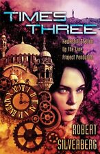 Signed by Robert Silverberg, TIMES THREE, Subterranean, Limited 1st, New, OOP