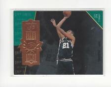 1998-99 SPx Finite #107 Tim Duncan Spurs /5400