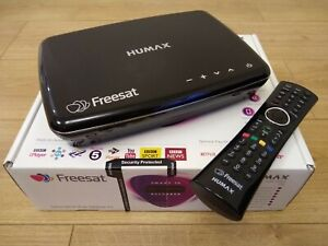 Humax HDR-1100S 1TB Freesat Satellite TV Recorder - Black