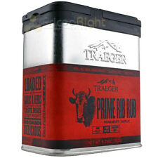 Traeger Grills 9.25 Oz Prime Rib Seasoning BBQ Rub Gluten Gmo Free 100% Natural