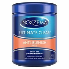 Noxzema Ult-Clear Anti-Blemish Pads 90 Count (2 Pack)