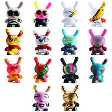 "Kidrobot - 3"" Dunny Warhol Series 1 + 2 - YOUR CHOICE - Dollar, Banana, Elvis"
