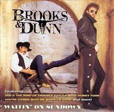 BROOKS & DUNN Waitin' On Sundown CD 1994 Arista Records BMG Club Issue country