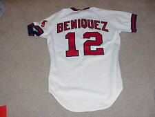 1984 Juan Beniquez Game Worn Jersey California Angels