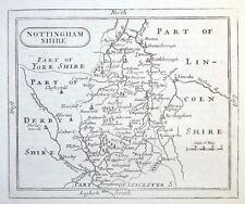 NOTTINGHAMSHIRE John Seller orig. antique map. c.1780