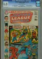 Justice League of America #82  (Batman)  CGC 6.0  OW-WP